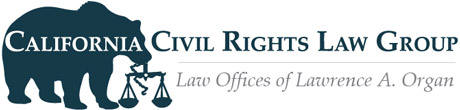 Civil Rights CA Retina Logo